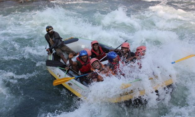 River Rafting in Coorg