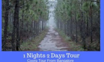2 Days Coorg Tour From Bangalore