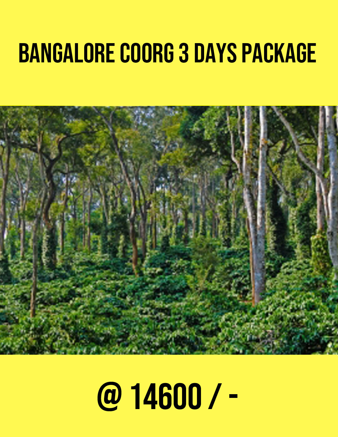 bangalore-coorg-3-days-package